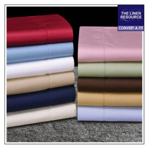 200 THREAD COUNT PRINT & SOLID CONVERT-A-FIT SHEETS