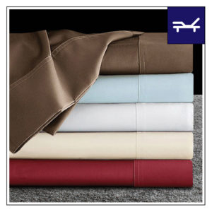 SPLIT 300 THREAD COUNT SOLID SHEETS FOR ADJUSTABLE POWER BEDS