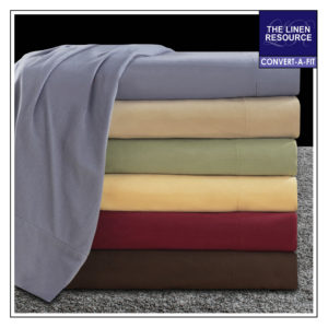 Flannel Solid Convert-A-Fit Sheets