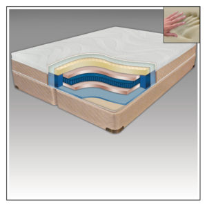 MEMORY-CELL® BEDS