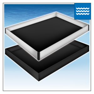 WATERBED SAFETY LINERS