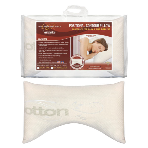 Positional Contour Pillow Images