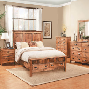 NORTHWOODS COLLECTION BEDROOM FURNITURE