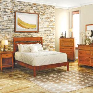 Studio Design Portfolio Bed Solid Wood Bedroom Furniture Collection