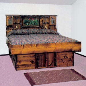 QUALITY PINE COLLECTION WATERBED FURNITURE
