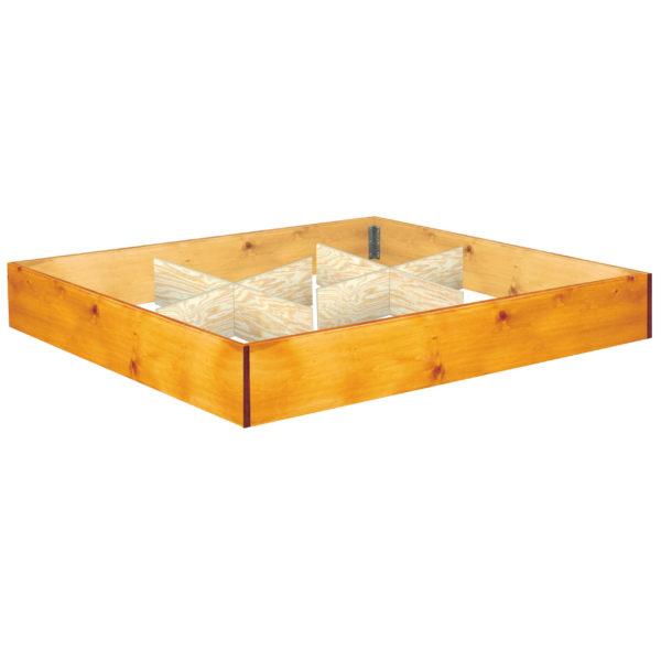 Quality Pine Honey Oak Finish Riser