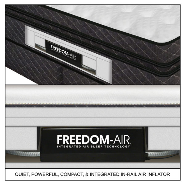Medallion Mattress Featuring Freedom-Air