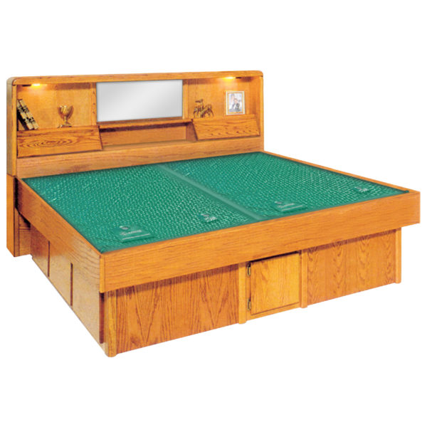 InnoMax Oak Land Jasmine Headboard Waterbed