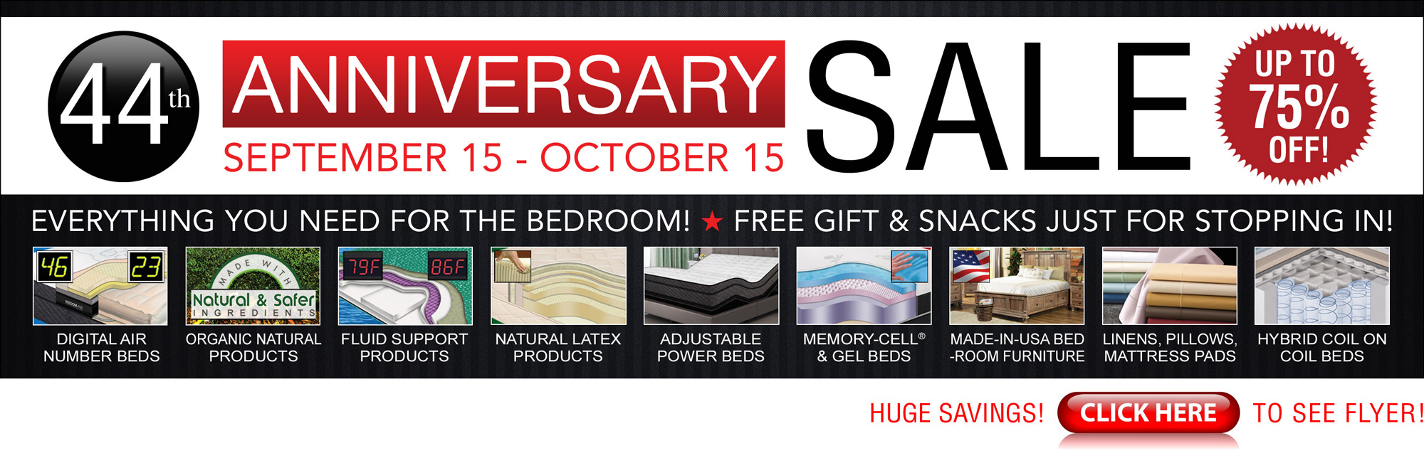 44th Anniversary Sale Going On Now!