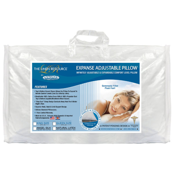 Linen Resource Expanse Pillow In Package