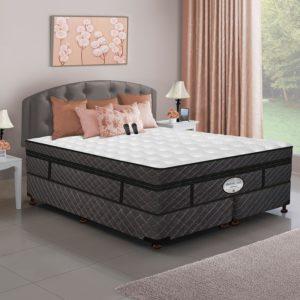 Dual Digital Millennium Air Bed & Foundation Set