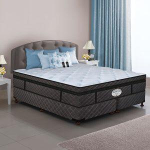 Dual Digital Memories Air Bed & Foundation Set