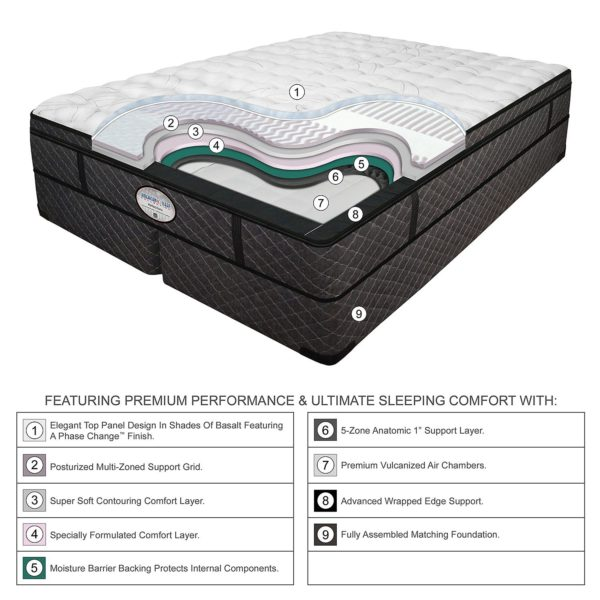 Digital Air Bed Features