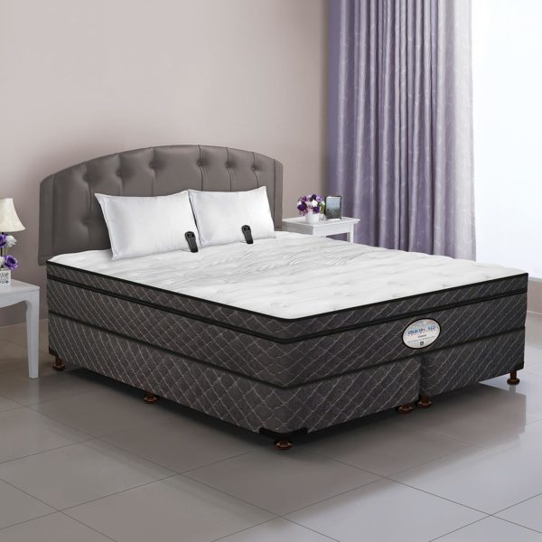 Dual Digital Visions Air Bed & Foundation Set