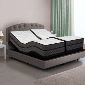 Dual Digital Reflections Air Bed & Adjustable Power Bases