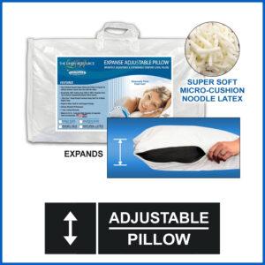 Expanse Adjustable Pillow - Noodle Latex