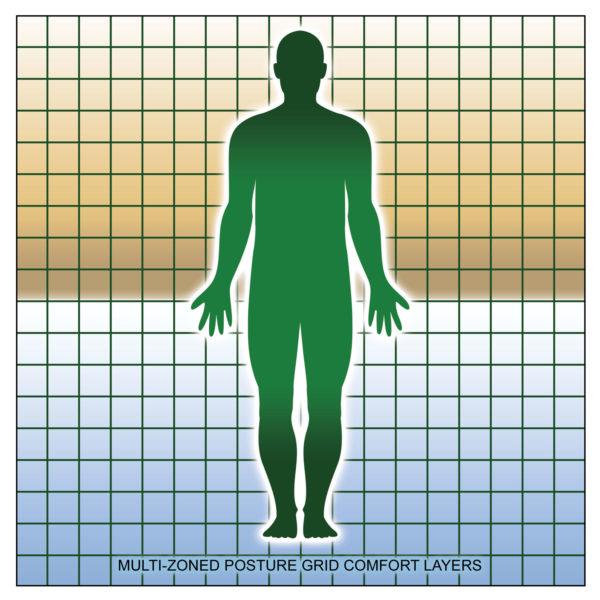 Multi-zoned Posture Grid