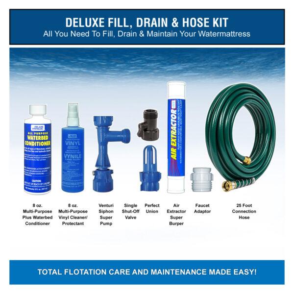 Deluxe - Fill, Drain & Hose Kit