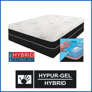 Spirit HyPUR-Gel Hybrid Mattress