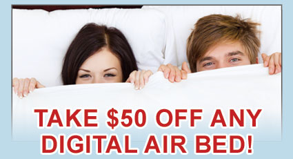 Email Sign Up Offer Digital Air Beds