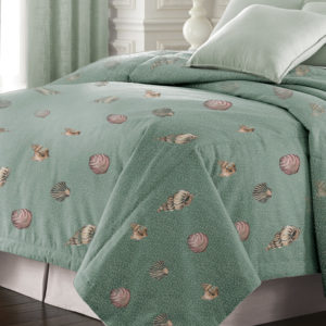 Seashell 200 Thread Count Double Stuffed Comforter