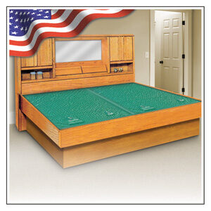OAK WATERBED HEADBOARD & FRAME SETS