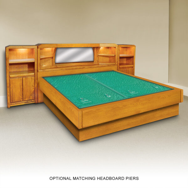 Marathon Waterbed Frame Set with Optional Piers