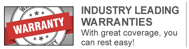 ASC - Industry Leading Warranties