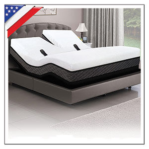 DUAL HEAD SMART AIR BEDS WITH ADJUSTABLE POWER BASE