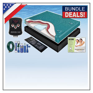 TRADITIONAL HARDSIDE WATERBED MATTRESS KIT BUNDLES