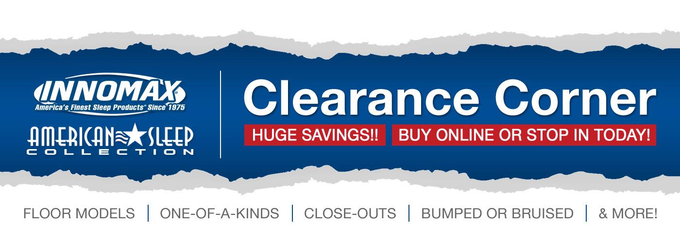 InnoMax Clearance Corner