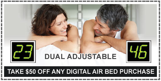 $50 Off Any Digital Air Bed Purchase
