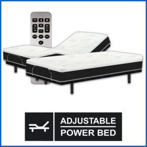 PR-8 Memory Foam Mattress & Essential Adjustable Power Base