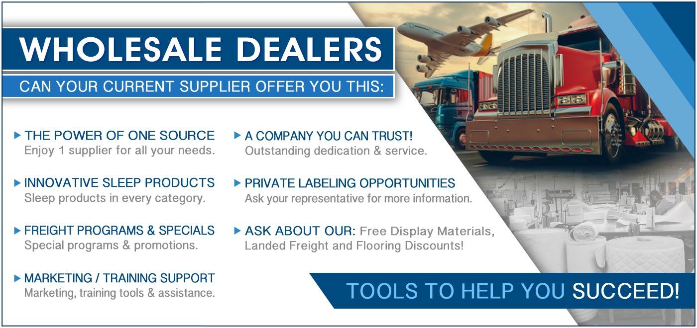 Wholesale Dealer Information