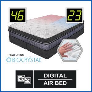 Cascade Digital Air Bed Featuring Bio-Crystal