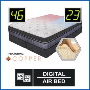 Spectrum Digital Air Bed Featuring Copper