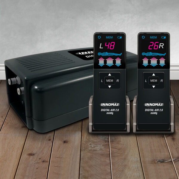 Digital Air 2.0 Inflator with Dual Wireless Remotes