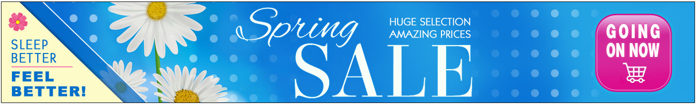 Spring Sale Going On Now!