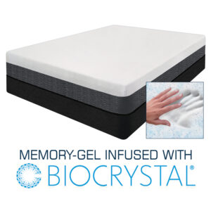 Echo - Memory-Gel Infused with Biocrystal Mattress