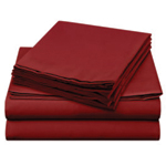 Flannel Burgundy Sheet Color Swatch