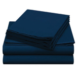 Flannel Navy Sheet Color Swatch