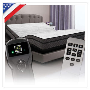 DIGITAL AIR BEDS WITH ADJUSTABLE POWER BASE