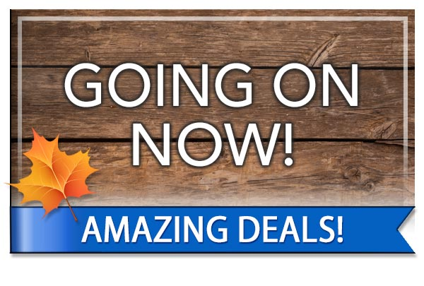 Fall Sale Going On Now!